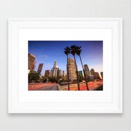 Los Angeles 01 - USA Framed Art Print