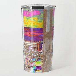 Art Show Montage Travel Mug