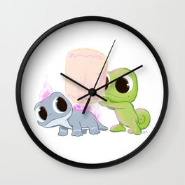 cold blooded and warm hearted  Wall Clock