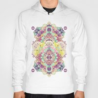 minerals Hoodies featuring Opal with phantoms  by Carolina Nino