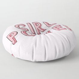 Girl Power Floor Pillow