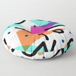 Faces Floor Pillow