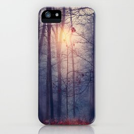 Melancolia. iPhone Case