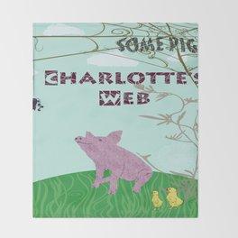 Charlotte's Web Throw Blanket