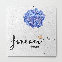 Forever yours #ultraviolet   Valentine Metal Print