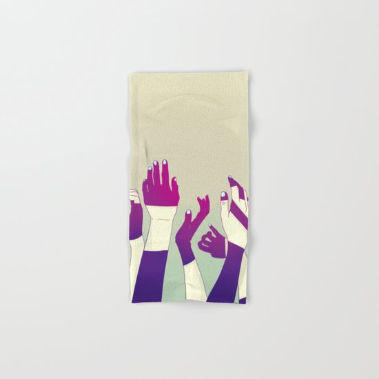 Crowd Hand & Bath Towel