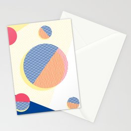 Japanese Patterns 01v Stationery Cards