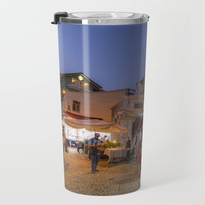 Istanbul At Night Travel Mug