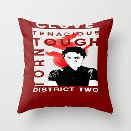 Clove District Two Throw Pillow