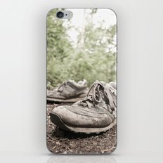 shoes for a decade, not for a year iPhone Skin