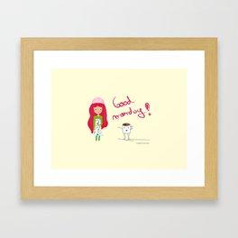 Good Monday Framed Art Print
