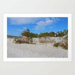 Dunes on Gasparilla II Art Print