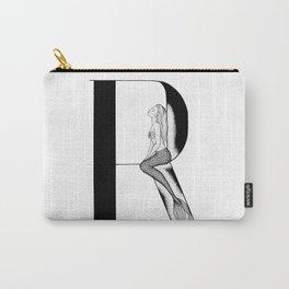 Mermaid Alphabet Series - R Carry-All Pouch