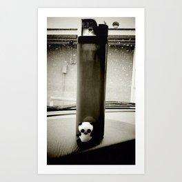 Lit Panda Art Print