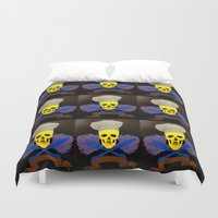 chef Duvet Covers featuring chef by Albano Juliano