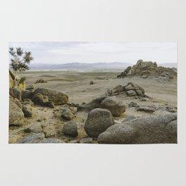 Somewhere in the Gobi Desert Rug