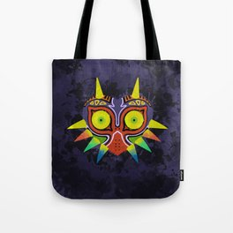 Majora's Mask Splatter Tote Bag