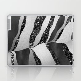 Desert Night Glam Stripes #2 #wall #decor #art #society6 Laptop & iPad Skin