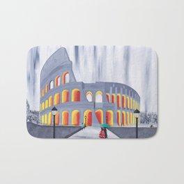 A Stroll by the Colosseum Bath Mat
