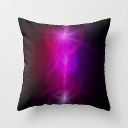 Purple Yggdrasil Throw Pillow