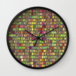 Geometric pattern 1b Wall Clock