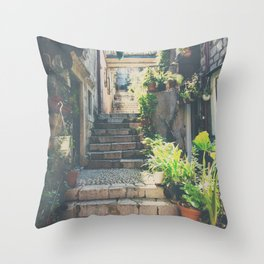 the prettiest of stairs ... Throw Pillow