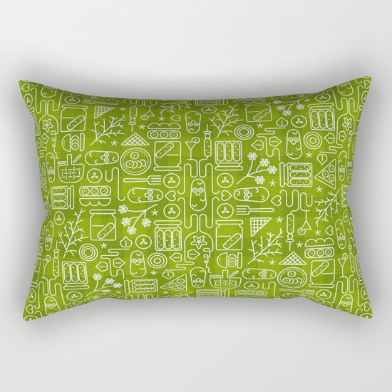 Pickles Picnic Rectangular Pillow