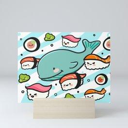 Sushi Bunch Mini Art Print