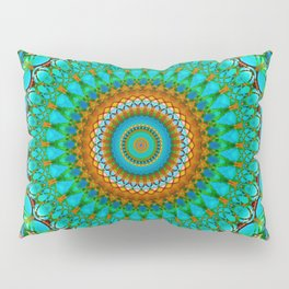 Geometric Mandala G388 Pillow Sham
