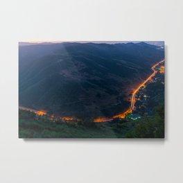 Laguna Canyon Road Metal Print