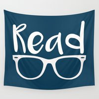 read Wall Tapestries featuring Read  by E.A. Creative