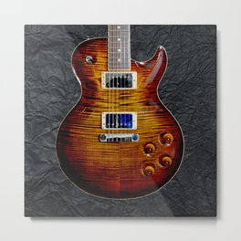 Awesome Guitar Metal Print