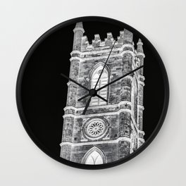 inverted church tower Wall Clock