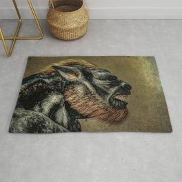 Portrait of a Werewolf Rug