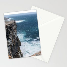Cliffs off Dún Aonghasa Stationery Cards