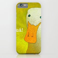 White Duck! iPhone 6s Slim Case