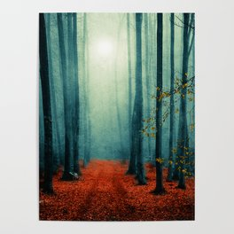 Landscape (colour option) Poster