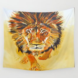 Relentless Pursuit Wall Tapestry
