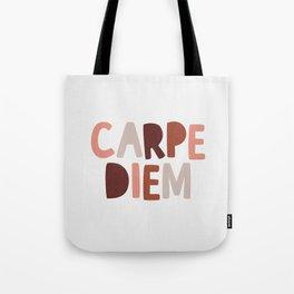 Carpe Diem Sieze the Day Tote Bag