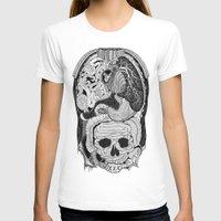 anatomy T-shirts featuring Gross Anatomy by Chris Varnum