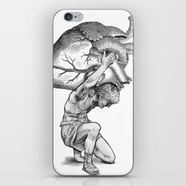 Heavy-Hearted - The Weight of the World iPhone Skin