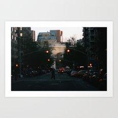Washington Square Park Lights Art Print
