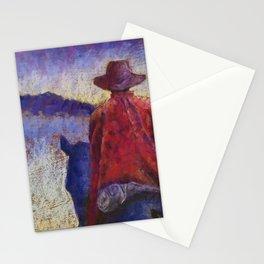 Solitude Original Art Pastel Painting Stationery Cards