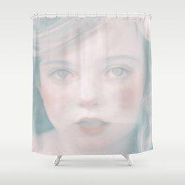Hazel by Amelia Millard Shower Curtain