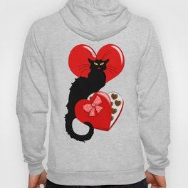 Le Chat Noir with Chocolate Candy Gift Hoody