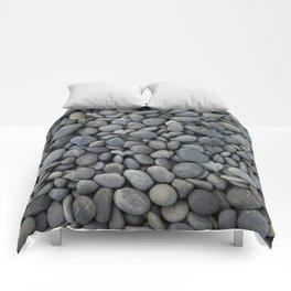 Gray pebbles Comforters