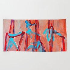 Aerial Quartet Beach Towel