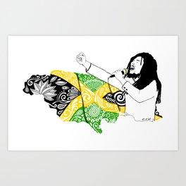 Jamaica -  Freedom Time Art Print