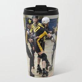 Tyne and Fear on the offense Travel Mug