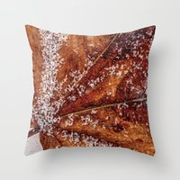 sprinkles Throw Pillows featuring sprinkles by Bonnie Jakobsen-Martin